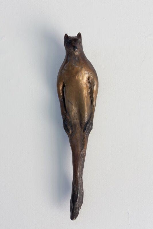 Jane Rosen, 'Red Fox Buddhi', 2015, Sculpture, Cast bronze with patina, Sears-Peyton Gallery