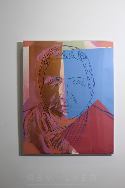 Andy Warhol, 'Gertrude Steinn (FS II.227) Trial Proof', 1980, Print, Screenprint on Lenox Museum Board, Revolver Gallery