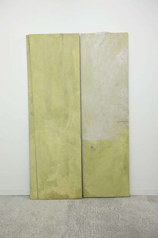 Lydia Gifford, 'Dividing', 2013, Mixed Media, Cotton on board, ink, oil paint, wood, Laura Bartlett