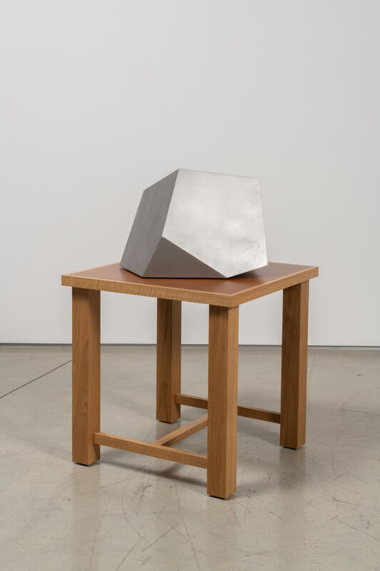Richard Deacon, 'Cuttings 3', 2018, Sculpture, Stainless steel, Galerie Thomas Schulte