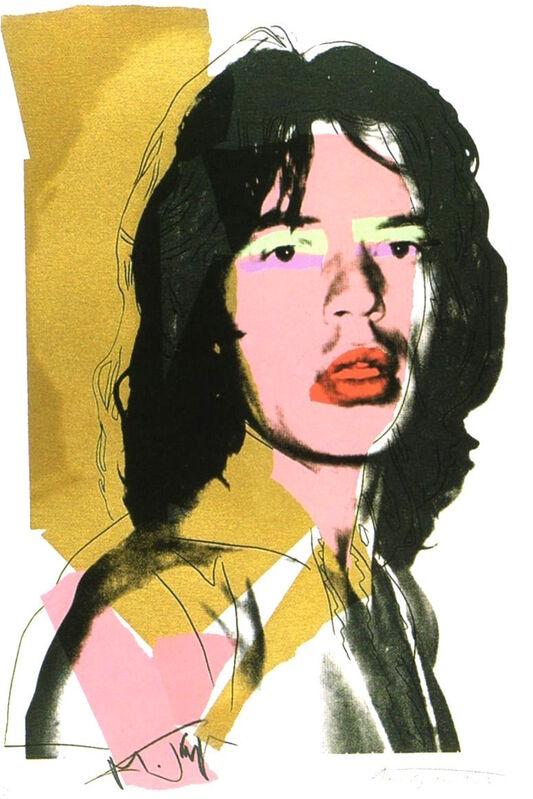 Andy Warhol, 'Mick Jagger 143', 1975, Print, Screenprint, ArtLife Gallery