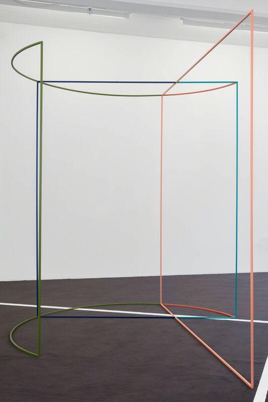 José León Cerrillo, 'The New Psychology 12', 2017, Sculpture, Iron, automative paint, Andréhn-Schiptjenko