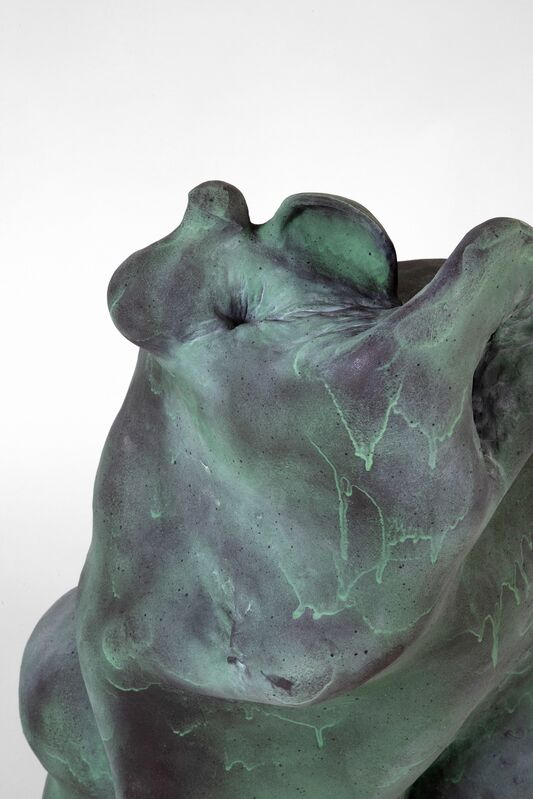 Coleton Lunt, 'The Pupator', 2020, Sculpture, Stoneware, paint, reduce cooled, cone 6, Cerbera Gallery