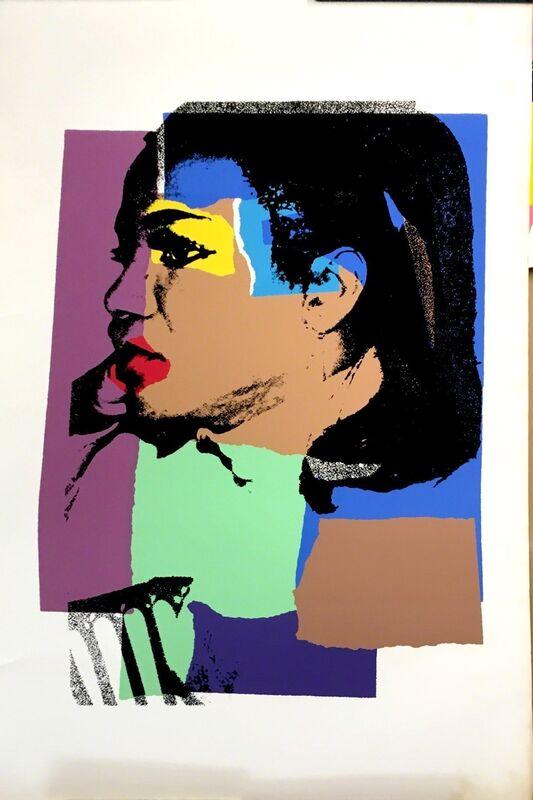 Andy Warhol, 'Ladies and gentlemen. FS.II.129', 1975, Print, Silkscreen on paper. Ed. 55/125ej., Odalys