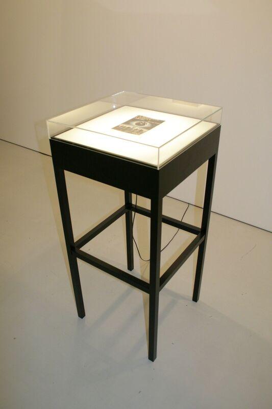 Christian Andersson, '1984 (1984)', 2008, Sculpture, Paper, transparent film, paint, light box, vitrine, Cristina Guerra Contemporary Art