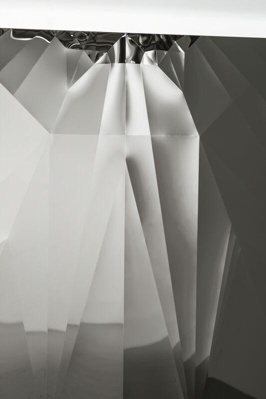 Yusuke Komuta, 'Plane_Bomber', 2013, Sculpture, Stainless, SCAI The Bathhouse
