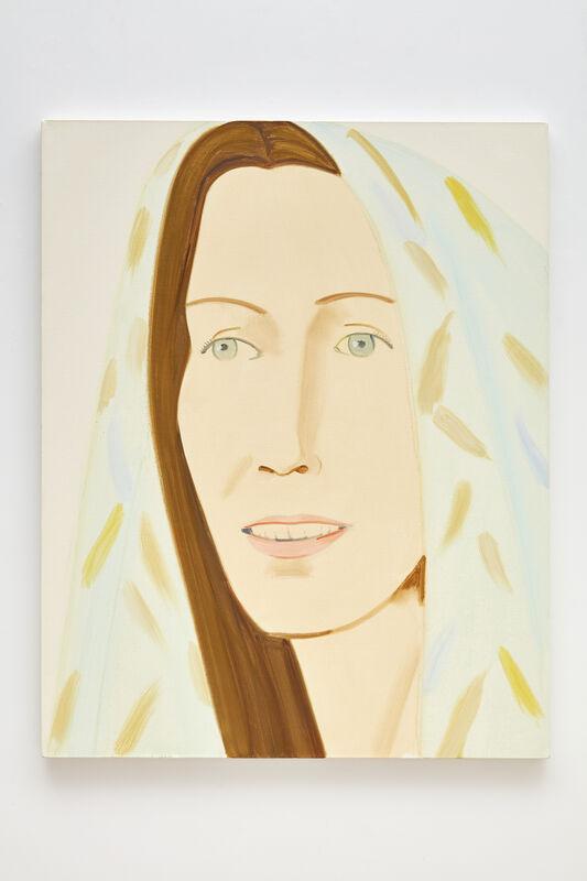Alex Katz, 'Dagmar', 2012, Painting, Oil on linen, Peter Blum Gallery