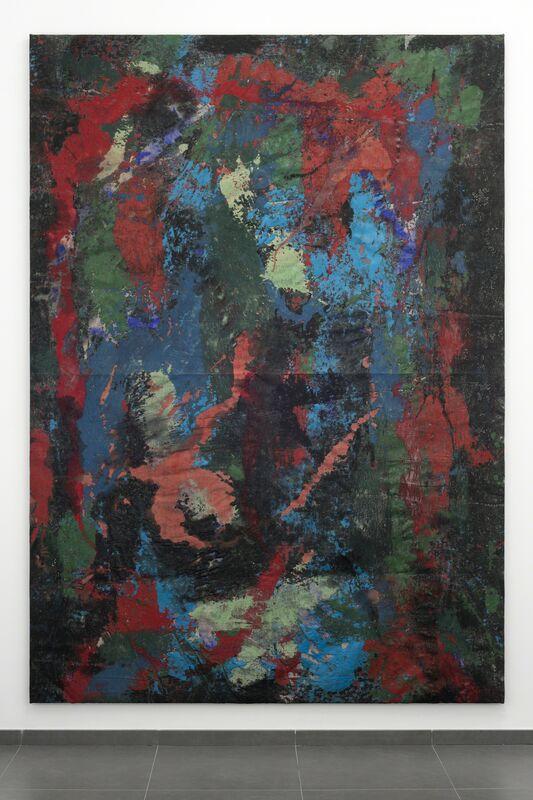 Keith J. Varadi, 'Reverse Quadchrome (RGB)', 2013, Painting, Oil-based enamel and linen, Ricou