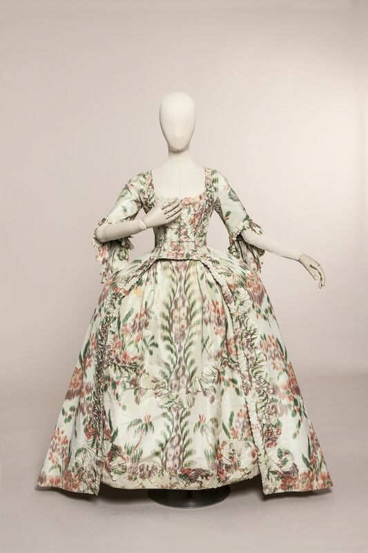 Unknown Designer, 'Robe à la française', ca. 1760, Fashion Design and Wearable Art, Silk Taffeta, Les Arts Décoratifs