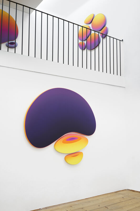 Jan Kaláb, 'Purple Medusa', 2021, Painting, Acrylic on canvas, MAGMA gallery