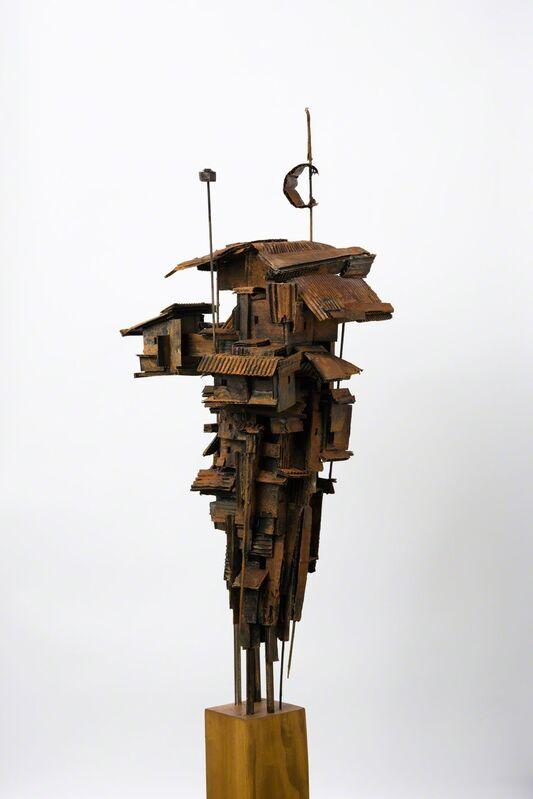 Alfredo and Isabel Aquilizan, 'Dwellings 1', 2014, Sculpture, Paper, Metal, Medium, etc., Art Front Gallery