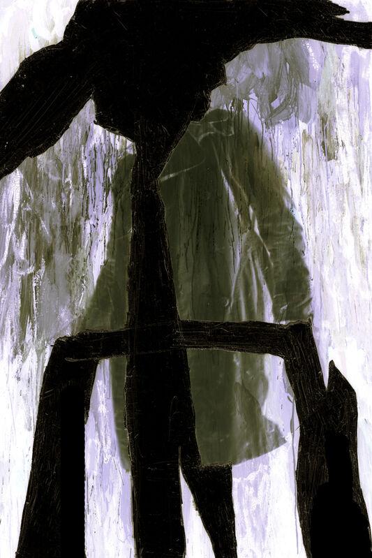 Thibault Hazelzet, 'Autoportrait recyclé #15', 2011, Photography, Ilfoflex under diasec, Galerie Christophe Gaillard