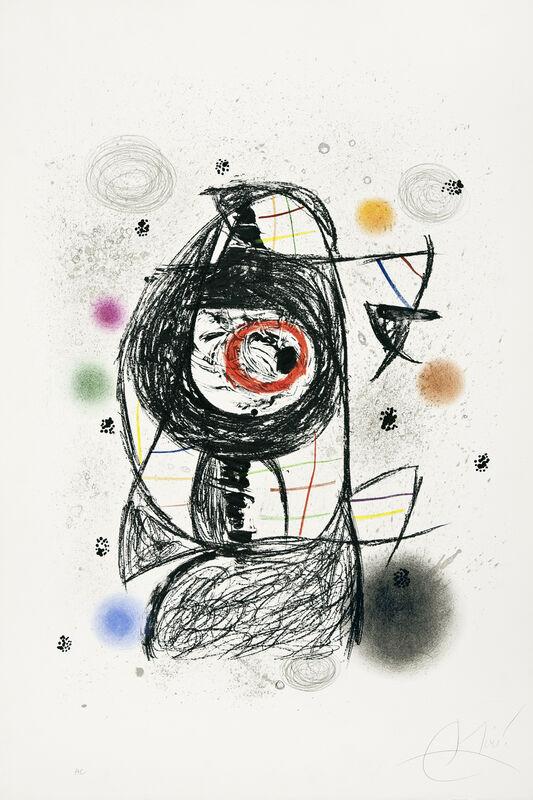 Joan Miró, 'La Jalouse', 1981, Print, Lithograph on Arches paper, Galerie Lelong & Co.
