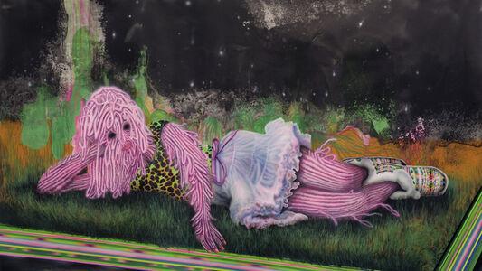 Erik Mark Sandberg, 'Sky with Leopard Tee and Boots', 2011