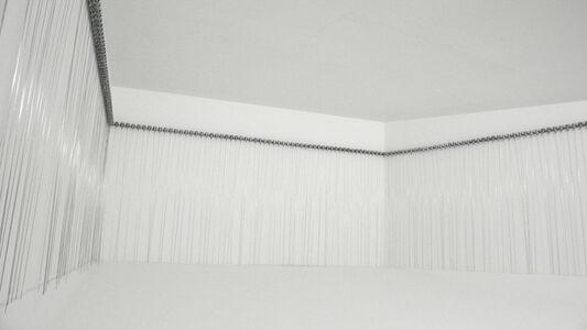 Zimoun, '216 prepared dc-motors, filler wire 1.0mm', 2009-2010