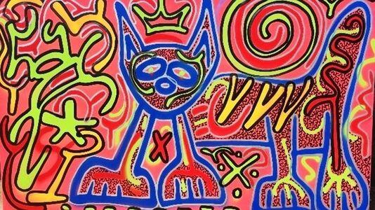 LA II (Angel Oritz), 'Summer Kat', 2020