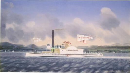 "James Bard, 'Towboat ""John Birkbeck""', 1854"