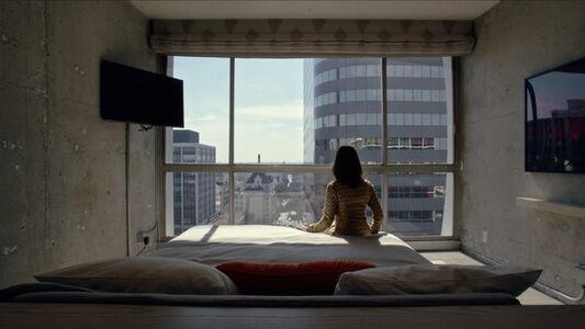 Cécile B. Evans, 'Amos' World. Episode One', 2017