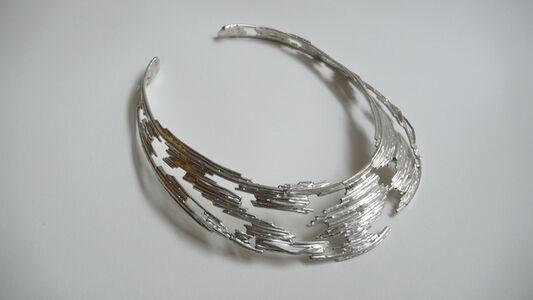 Tabor and Villalobos, 'Open Latticework Silver Choker', 2012