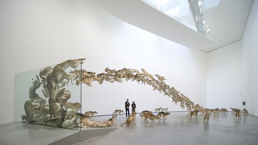 Cai Guoqiang 蔡国强, 'Head On', 2006