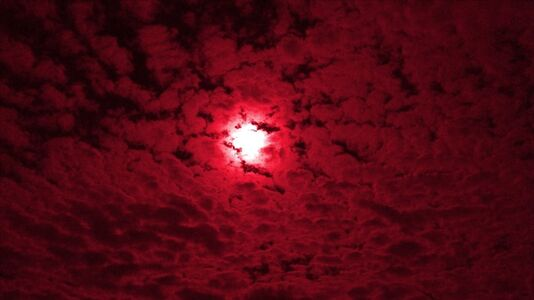 MPA, 'Overhead, Red Cloud', 2014-2015
