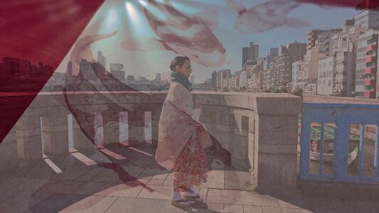 Taeko Nomiya, 'Komagata bashi', 2019