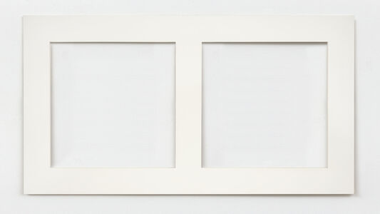 Ad Dekkers, 'Begrenzingsreliëf rechthoek met vertikale middendeling / Boundary relief rectangle with vertical middle division', 1972