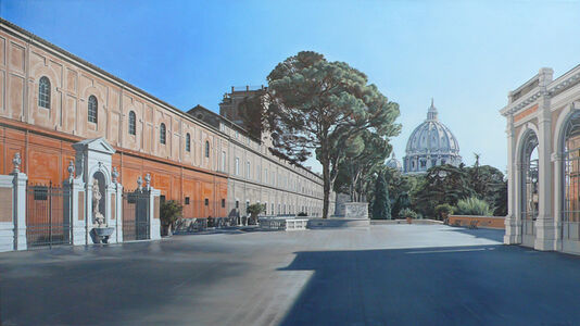 David Wheeler, 'Tutto Passa (Vatican Museum, Rome)'