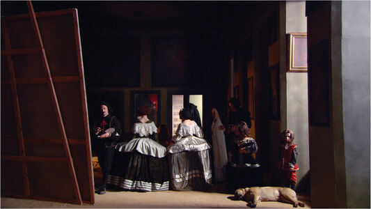 Eve Sussman, 'De Espaldas (still from 89 seconds at Alcázar)', 2004