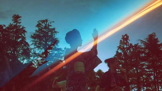 Taeko Nomiya, 'Blue Lights', 2019