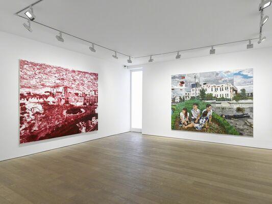 Liu Xiaodong: Weight of Insomnia, installation view
