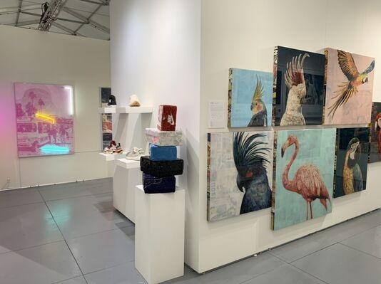Axiom Contemporary at SCOPE Miami Beach 2019, installation view