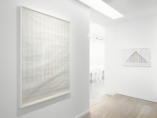 Channa Horwitz: Rules of the Game, installation view