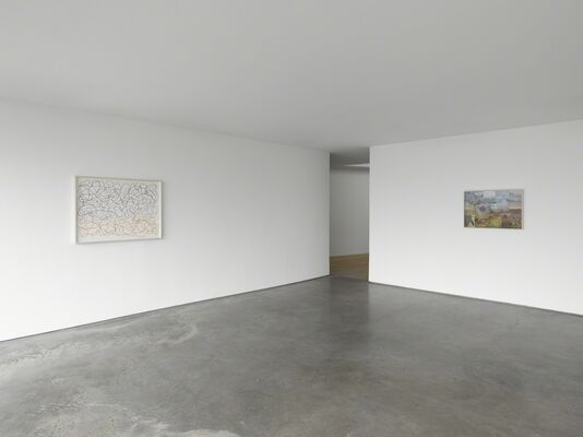 Spencer Finch: No Ordinary Blue, installation view