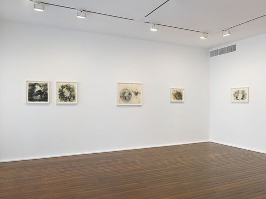 Jack Whitten. Transitional Space. A Drawing Survey, installation view