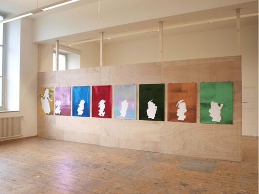 I see..., installation view