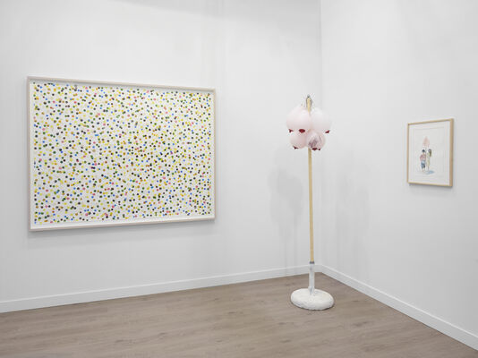 Lisson Gallery at Frieze New York 2018, installation view