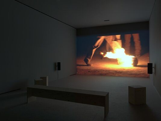 Francis Alÿs: Ciudad Juárez projects, installation view