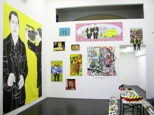HABS-BURGERSTAND [habːsˈbøːɐɡɐːstand], installation view