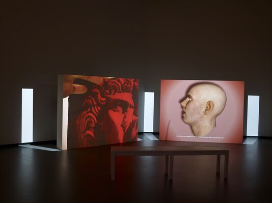 Installment 2: The Collection, installation view