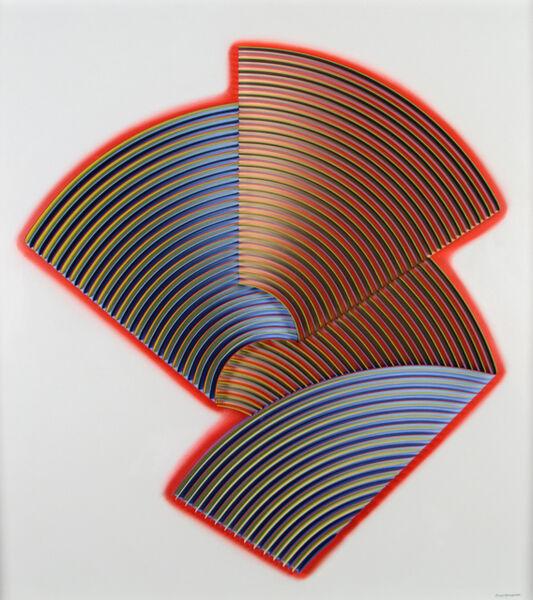 Peter Monaghan, 'Fold XXI', 2019