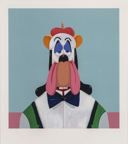 George Condo, 'Droopy Dog Abstraction', 2000