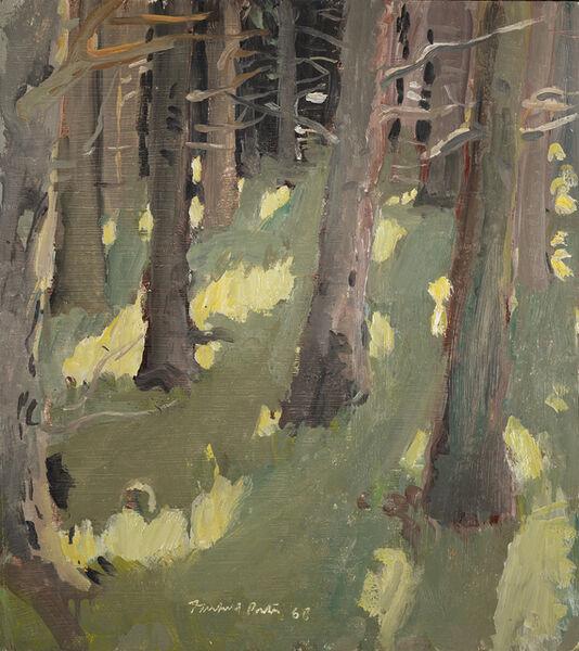 Fairfield Porter, 'Woods', 1968