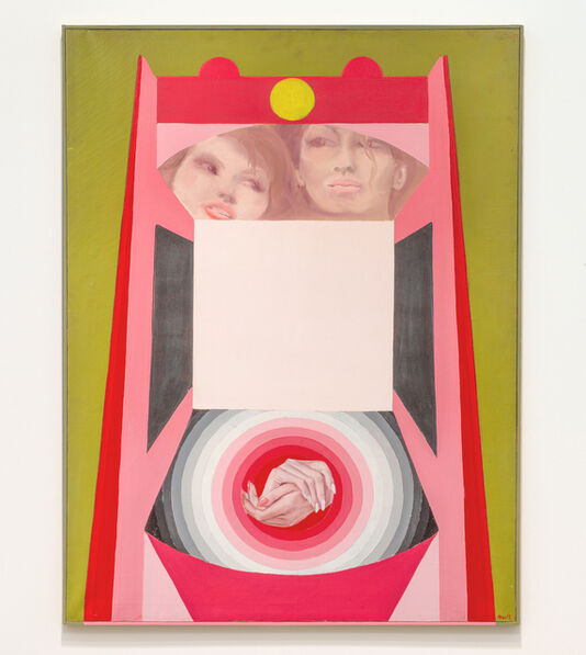 Evelyne Axell, 'Erotomobile III', 1966