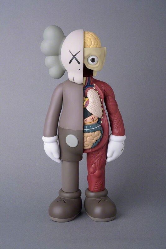 KAWS, 'COMPANION BROWN (FLAYED) (OPEN EDITION)', 2016, Sculpture, Vinyl, Marcel Katz Art