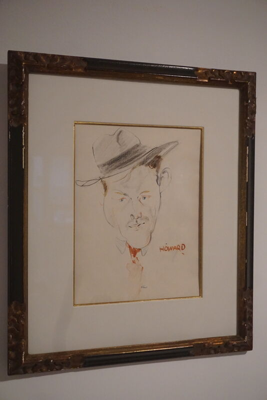 Franz Kline, ' Howard the Fireman', C1940's, Drawing, Collage or other Work on Paper, Four pencil on paper, Hal Katzen Gallery