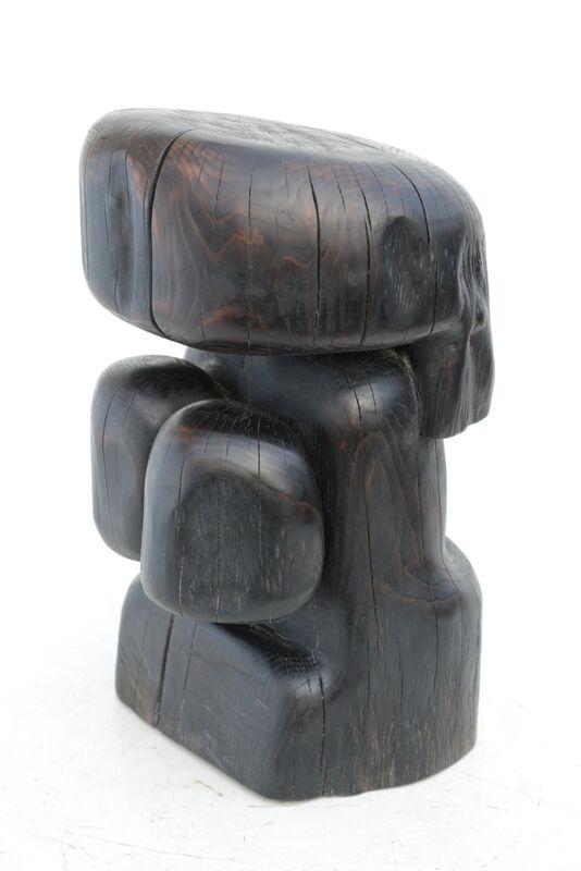 Wang Keping 王克平, 'Standing Woman (WK19)', 2012, Sculpture, Yew, 10 Chancery Lane Gallery