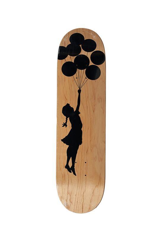 Banksy, 'Balloon Girl', 2017, Other, Transfer printed skateboard deck, Rago/Wright/LAMA