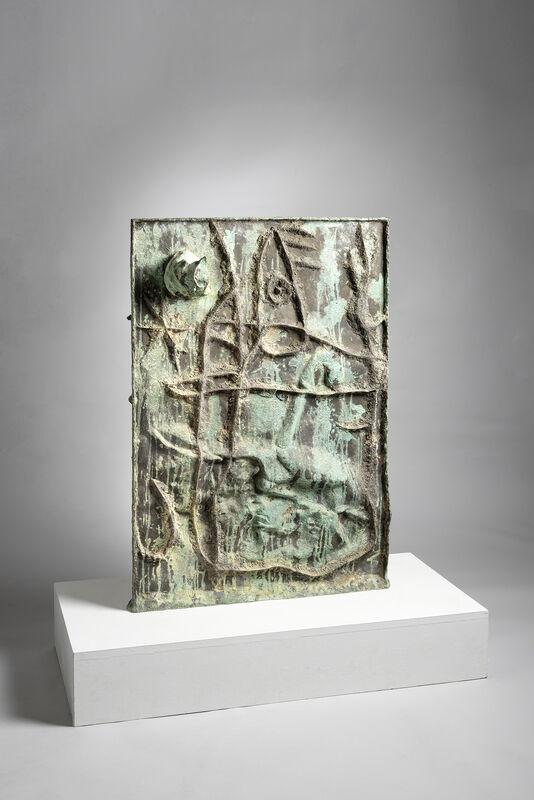 Joan Miró, 'Bas relief', 1971, Sculpture, Bronze, Galerie Lelong & Co.