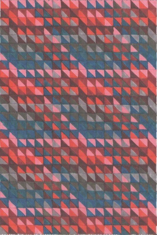 Cecilia León de la Barra, 'Eight Sequence', 2014, Design/Decorative Art, Kilim flatweave in New Zealand wool, Odabashian